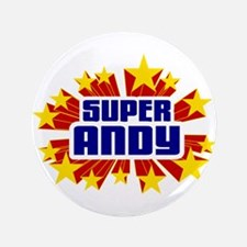"Andy the Super Hero 3.5"" Button (100 pack)"