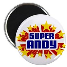 """Andy the Super Hero 2.25"""" Magnet (100 pack)"""