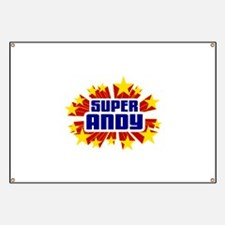 Andy the Super Hero Banner