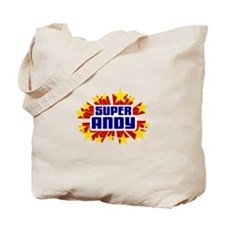 Andy the Super Hero Tote Bag