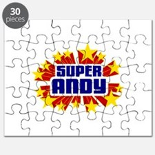 Andy the Super Hero Puzzle
