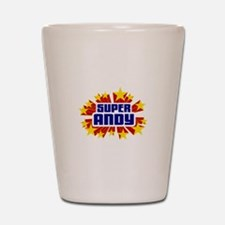 Andy the Super Hero Shot Glass