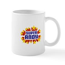 Andy the Super Hero Small Mugs