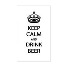 Keep Calm Drink Beer Stickers