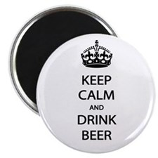 Keep Calm Drink Beer Magnet