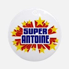 Antoine the Super Hero Ornament (Round)