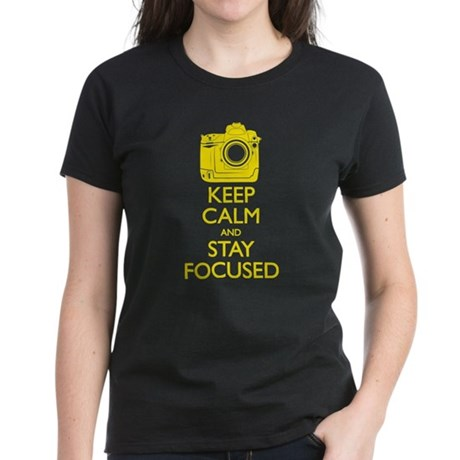 Women's Nikon - Keep Calm Women's Dark T-Shirt