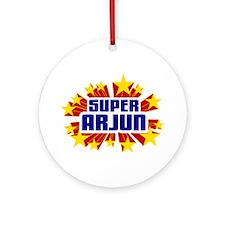 Arjun the Super Hero Ornament (Round)
