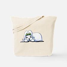 Precious Maltese Tote Bag