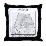 Addiction - Big Boy Throw Pillow
