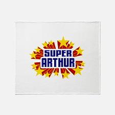 Arthur the Super Hero Throw Blanket