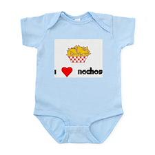 I Heart Nachos Infant Bodysuit