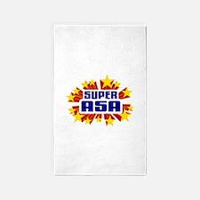 Asa the Super Hero 3'x5' Area Rug