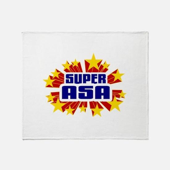 Asa the Super Hero Throw Blanket