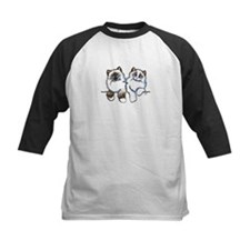 Ragdolls Pair Off-Leash Art™ Baseball Jersey