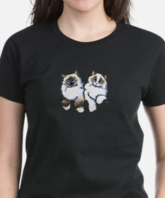 Ragdolls Pair Off-Leash Art™ T-Shirt