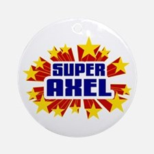 Axel the Super Hero Ornament (Round)