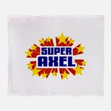 Axel the Super Hero Throw Blanket