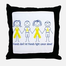 Friends don't let friends fight cancer alone! Thro