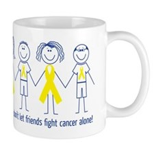 Friends don't let friends fight cancer alone! Mug