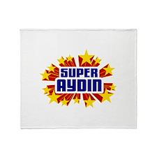 Aydin the Super Hero Throw Blanket