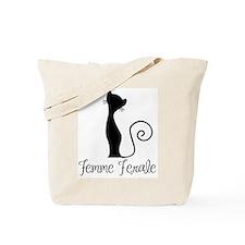 Femme Ferale Tote Bag
