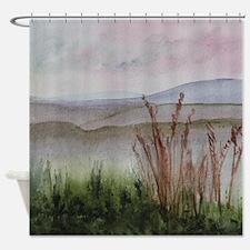 Misty Day Shower Curtain