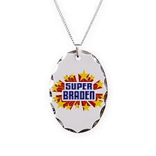 Braden the Super Hero Necklace