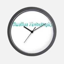 Timeline Photography Wall Clock