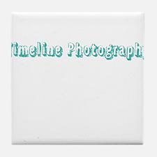 Timeline Photography Tile Coaster