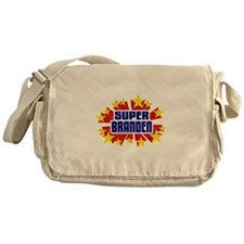 Branden the Super Hero Messenger Bag