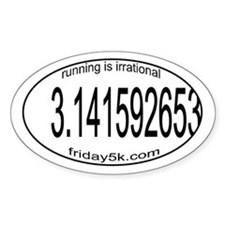 running is irrational oval
