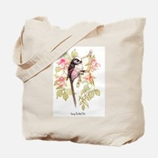 Long Tailed Tit Peter Bere Design Tote Bag