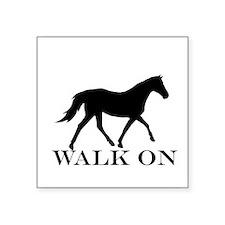 Walk on Tennessee Walker Hoodie Sticker