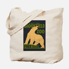 Polar Bear Zoo Tote Bag