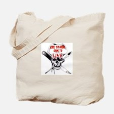 Cook to Live Tote Bag