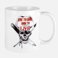 Cook to Live Small Mugs