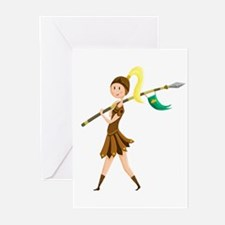 Warrior Princess Greeting Cards (Pk of 20)