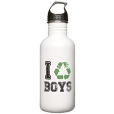 I Recycle Boys Water Bottle