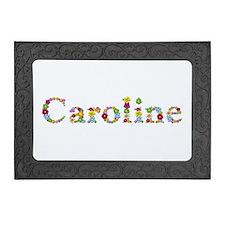 Elegant Pattern Leather Card Holder