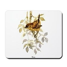 Wren Peter Bere Design Mousepad