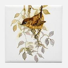 Wren Peter Bere Design Tile Coaster