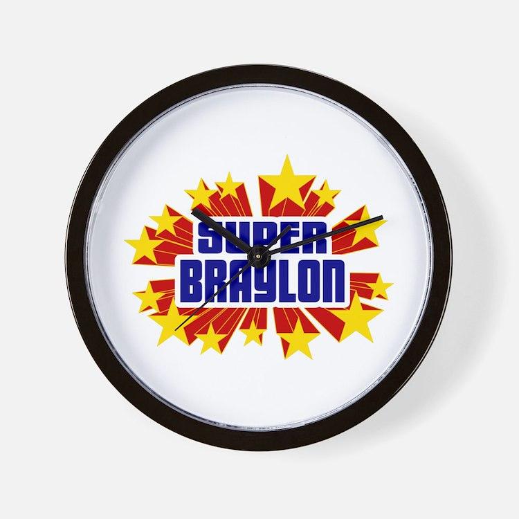 Braylon the Super Hero Wall Clock