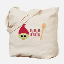 Red Troll Bacon Spoon Tote Bag