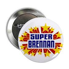 "Brennan the Super Hero 2.25"" Button (100 pack)"