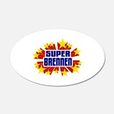 Brennen the Super Hero Wall Decal
