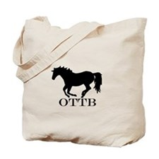 Off Track Thoroughbred Tote Bag
