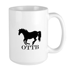 Off Track Thoroughbred Mug