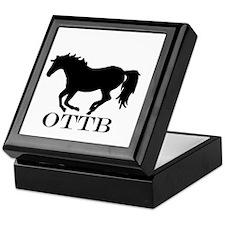 Off Track Thoroughbred Keepsake Box