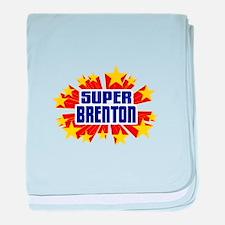 Brenton the Super Hero baby blanket